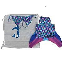 Deniz Kızı Mayosu (Yüzmeye uygun paleti ile Kız çocukları için)