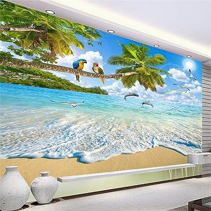 Wallpaper 3D Wall Mural Large Custom Photo Mediterranean Natural Scenery Landscape Living
