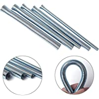 Concrete Metal Wire Twisting Fence Tool Curved Hook and Straight Hook Rebar Tie Wire Twister Tool Rebar Wire Twister Pull Tie Wire Twister LiXiongBao 2 Pack Automatic Rebar Tie Wire Twister