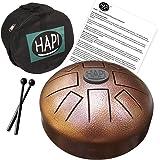 HAPI HDMINIDAKE Tongue Drum Mini Steel Percussion Instrument - D Akebono with FREE padded travel bag