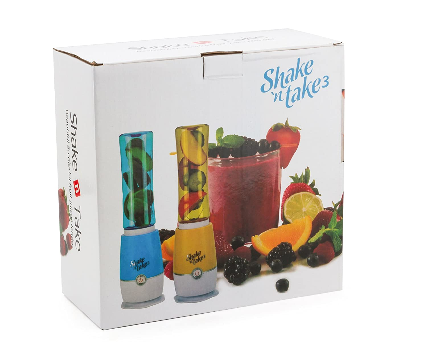 Buy Shake N Take 3 With 2 Sports Bottle Blender Juicer 180w Random And Color Blue Green Online At Low Prices In India