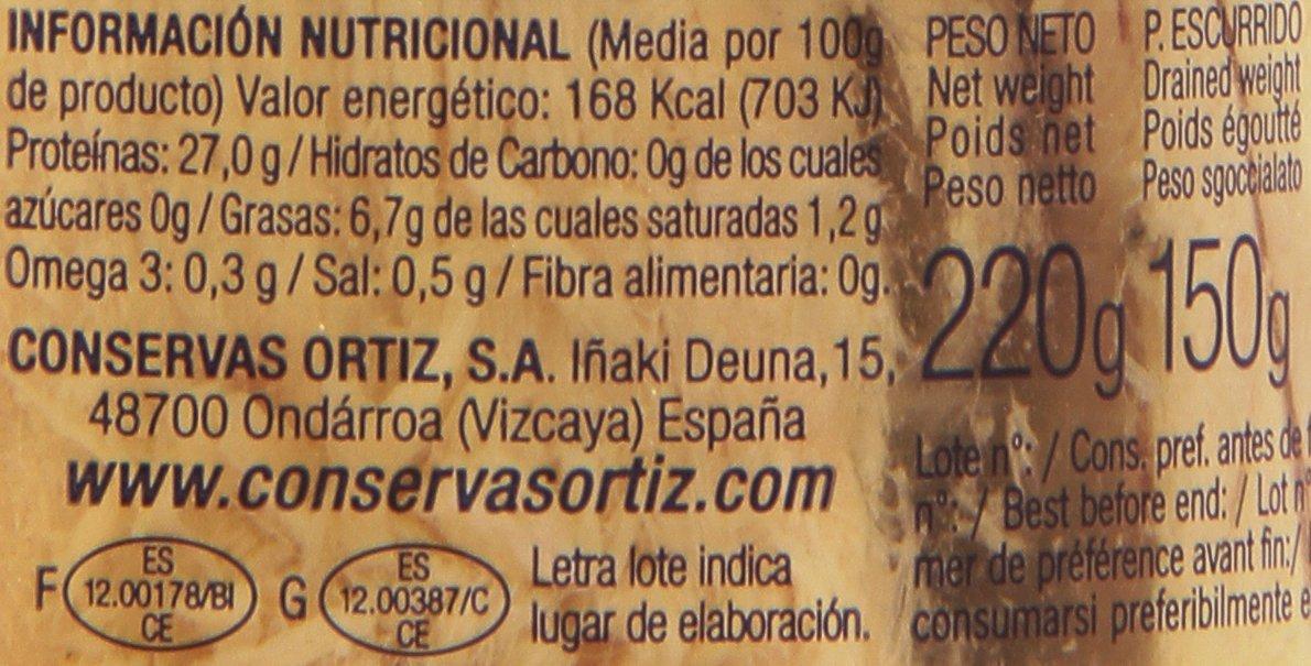 Bonito del Norte en Aceite de Oliva Ortiz