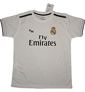 Real Madrid FC Camiseta Infantil R/éplica Oficial Licenciado Tercera Equipaci/ón 2018//2019