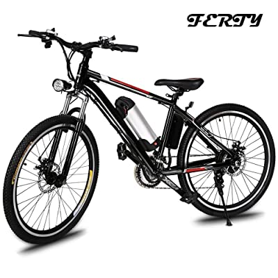 Ferty Electric Mountain Bicycle Review