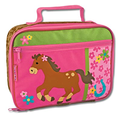 Stephen Joseph Classic Lunch Box, Girl Horse: Kitchen & Dining