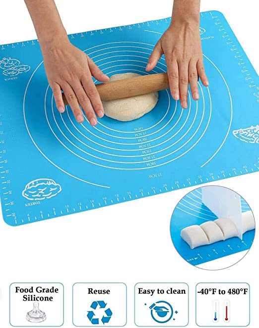 Non-Slip Silicone Pastry Baking Mats