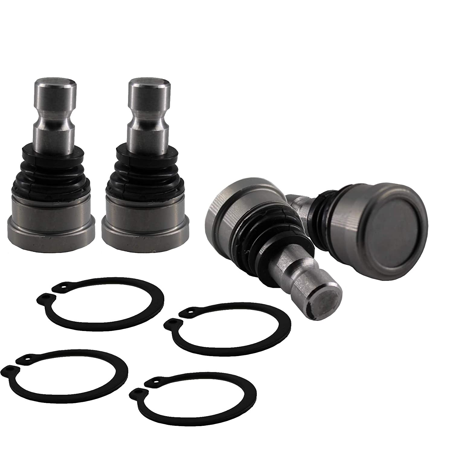East Lake Axle upper//lower Ball Joint kit compatible with Polaris Ranger RZR Sportsman ATV//UTV 7061220 7061187