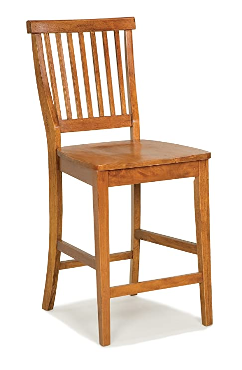 Stupendous Americana Oak Bar Stool By Home Styles Inzonedesignstudio Interior Chair Design Inzonedesignstudiocom