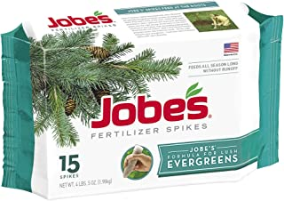 product image for Jobe's 01661 Evergreen Fertilizer Spikes, 15, Brown