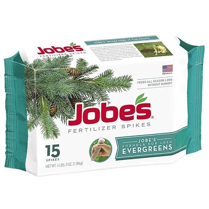 Jobe's 01661 1611 Evergreen Outdoor Fertilizer Food Spikes, 15