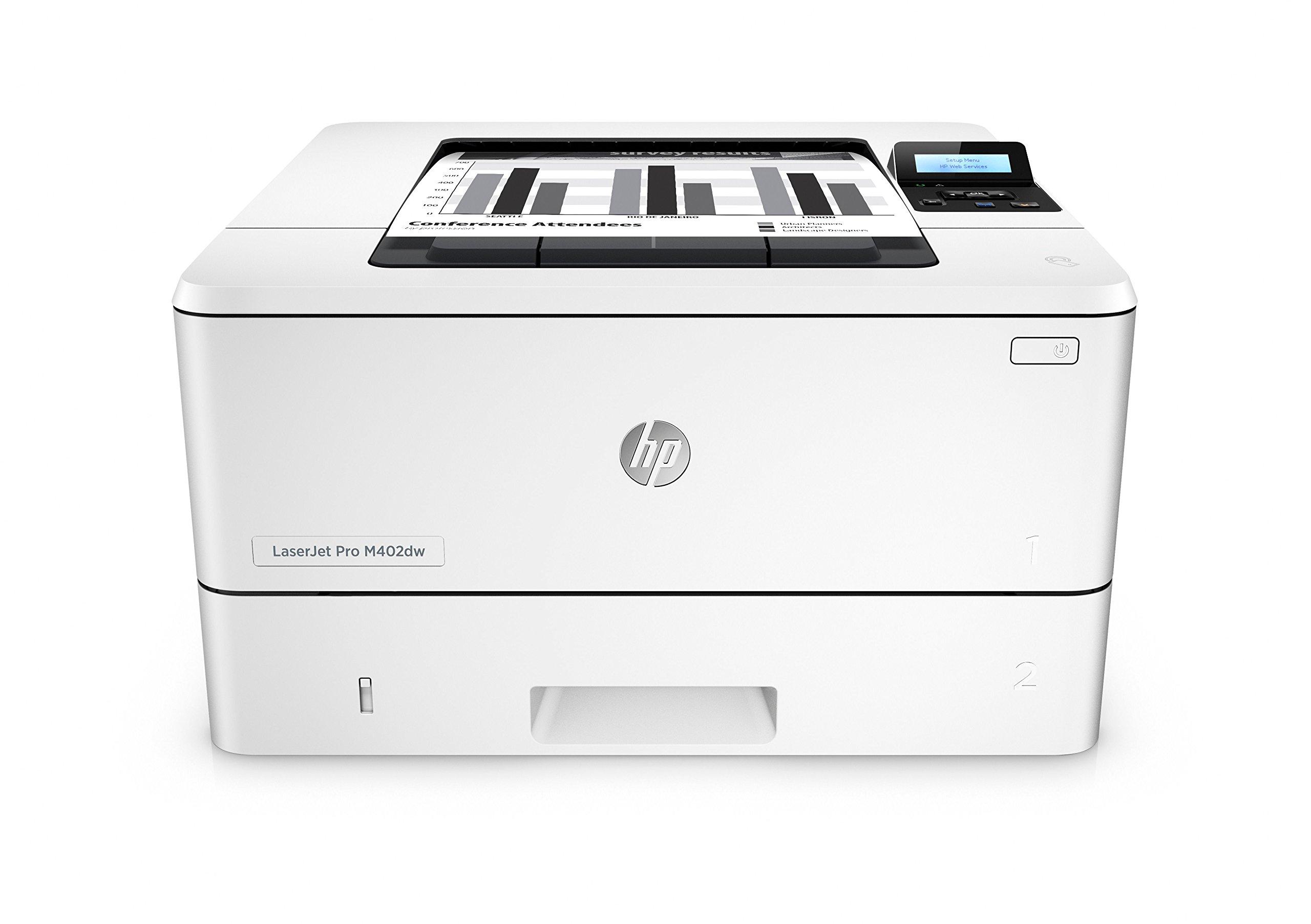 HP LaserJet Pro M402dw Wireless Monochrome Printer (C5F95A#BGJ)