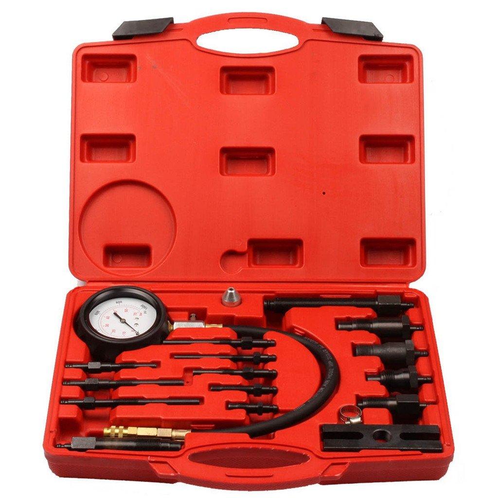 Supercrazy Diesel Engine Cylinder Compression Diagnostic Test Tool Kit SF0128