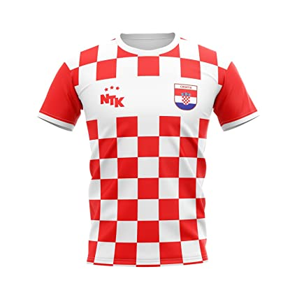 1079612d2 Image Unavailable. Image not available for. Color  National Team Kits  Croatia Men s Home Soccer Jersey
