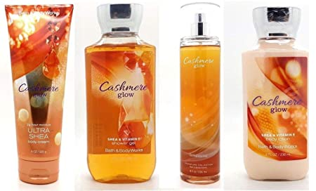 Cashmere Glow Gift Set – Signature Collection – Bath Body Works – Body Lotion – Body Cream – Fragrance Mist Shower Gel Full Size
