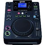 Gemini CDJ-300 - Reproductor de CD (USB, CD, MP3), color negro