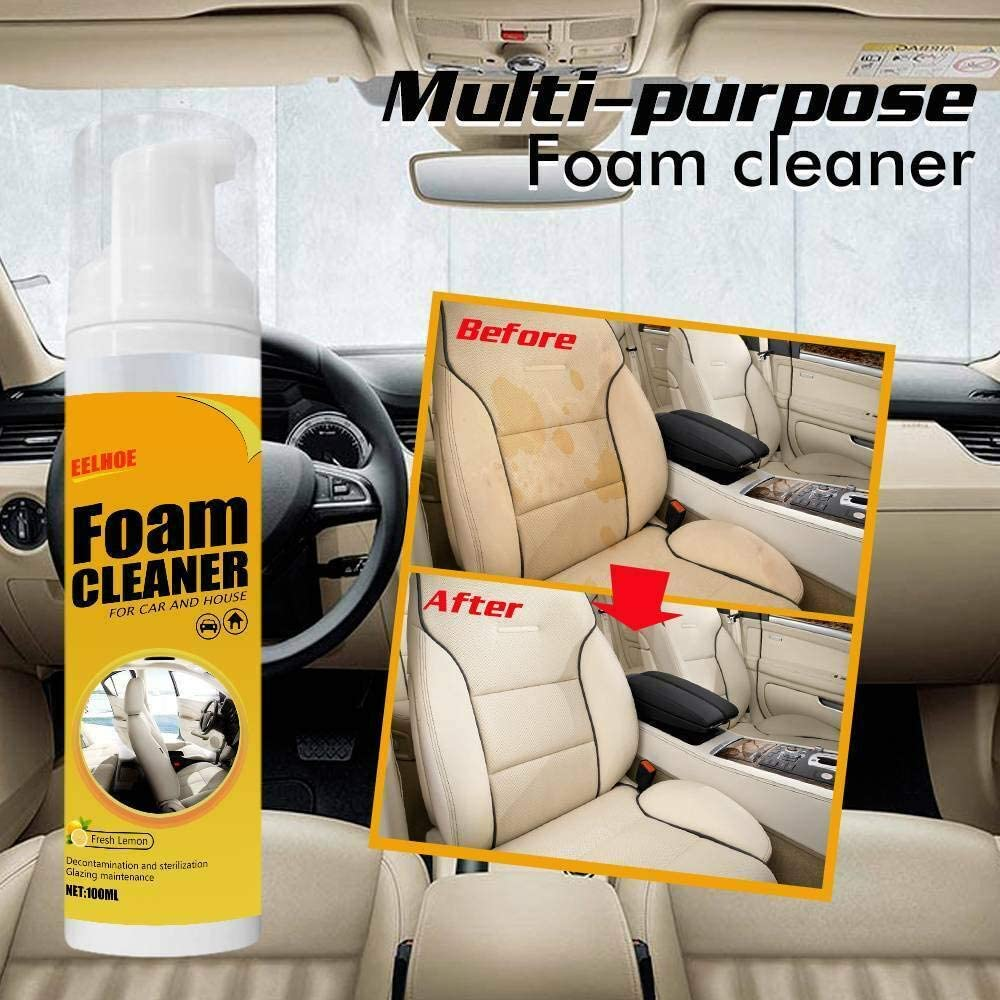 Multi-Purpose Cleaning AUTOMOIVE CAR Interior Cleaning Foam Cleaner W9E5