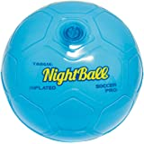 Britz 'N Pieces Night Pro Soccer Blue Ball