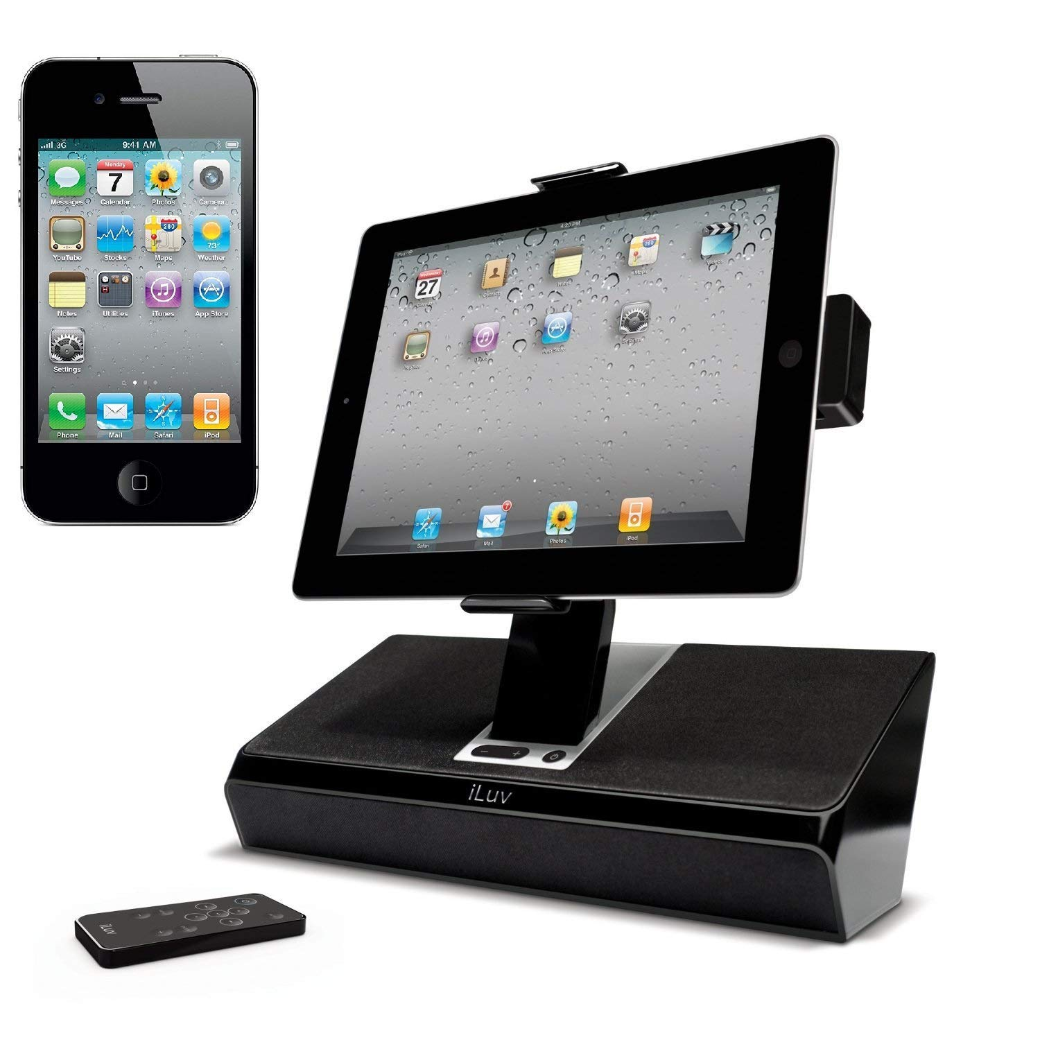 iLuv iMM727BLK ArtStation Stereo Speaker Dock with Remote 30-Pin iPod/iPhone (Discontinued by Manufacturer) by Logitech