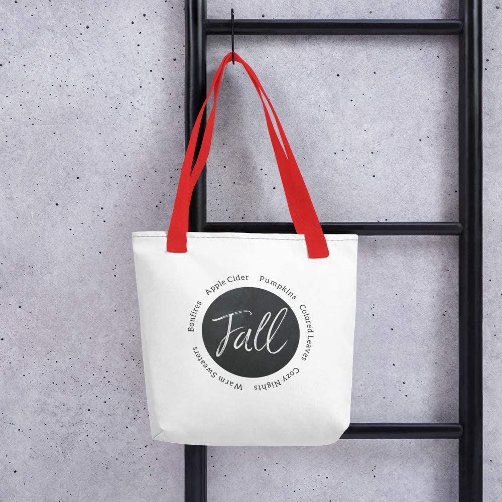 Fall Tote; Fall Bag; Fall Descriptions Tote Bag