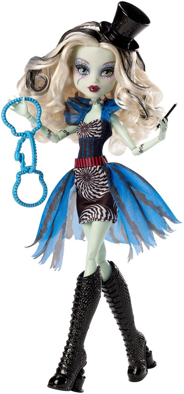 Monster High - Muñeca Frankie Circo monstruoso (Mattel CHX98): Amazon.es: Juguetes y juegos