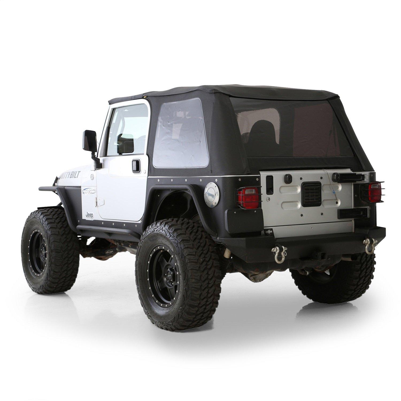 Smittybilt 75000 Billet Style Aluminum Gas Cover