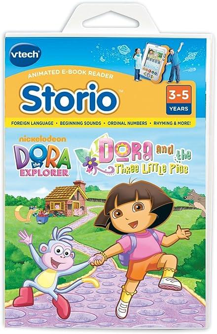 Amazon.es: Dora - Tablet para niños Los Tres Cerditos (versión en ...
