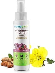 Mamaearth Root Restore Hair Oil For Hair Fall, 100 ml