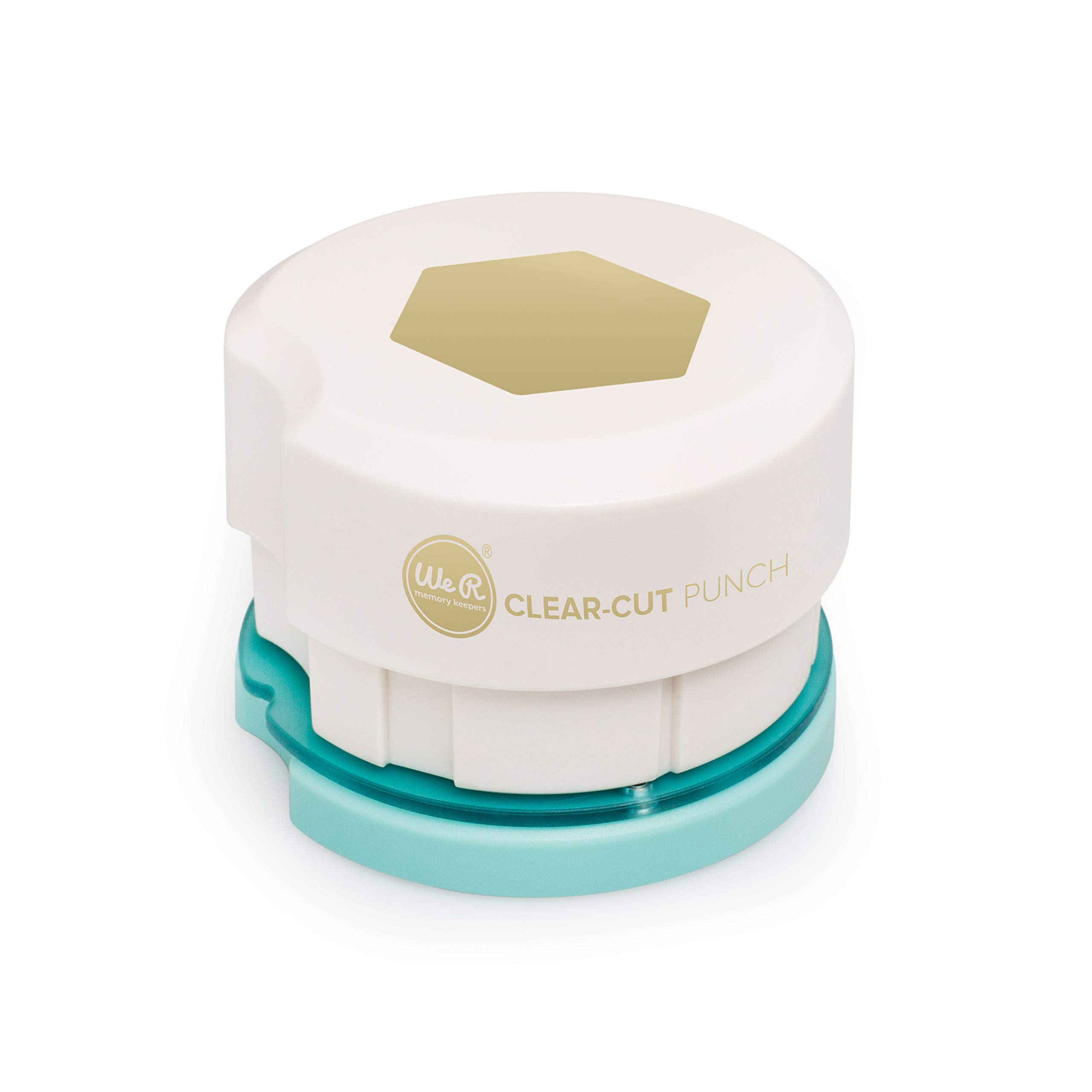 American Crafts Clear Cut 2 Inch Magnetic Punch Hexagon,