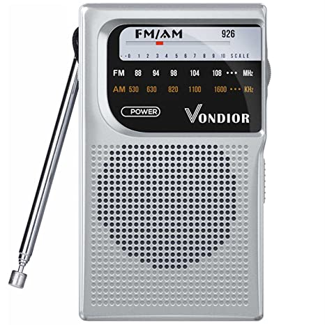 Amazon Com Am Fm Battery Operated Portable Pocket Radio Best