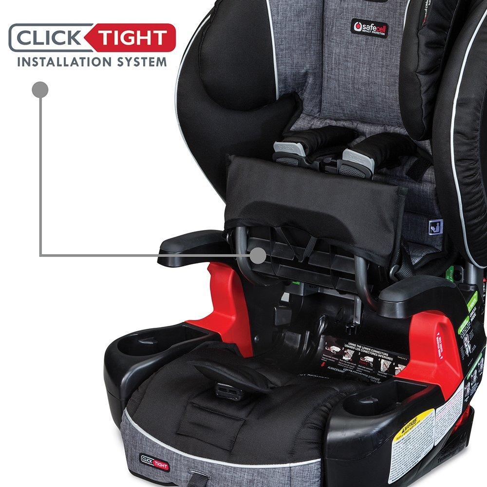 Amazon.com : Britax Frontier Clicktight Combination Harness-2 ...