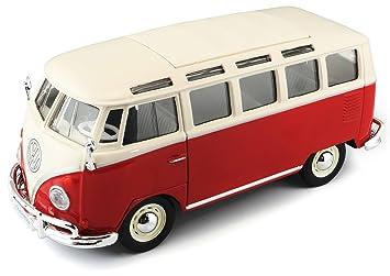 Maisto Special Edition 1:25 Volkswagen Van Samba - Colors May Vary