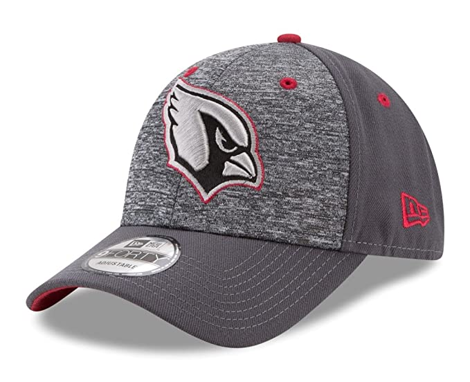 70321f0da08ed1 Amazon.com : NFL Arizona Cardinals Adult Men The League Shadow 2 9FORTY  Adjustable Cap, One Size, Graphite : Clothing