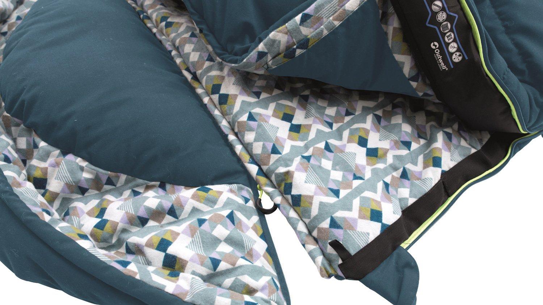 Outwell Saco de Dormir Camper, Blue, 235 x 90 cm: Amazon.es: Deportes y aire libre