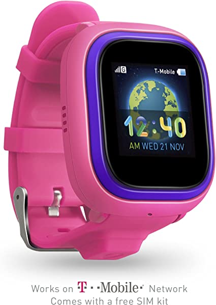 TickTalk 2.0 Touch Screen Kids Smart Watch, GPS Phone Watch, with New App, Positioning Chip, Things to Do Reminder, Phone/Messaging (SIM Card ...