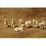 Ovejas 7 teilig figuras 7-9cm figuras