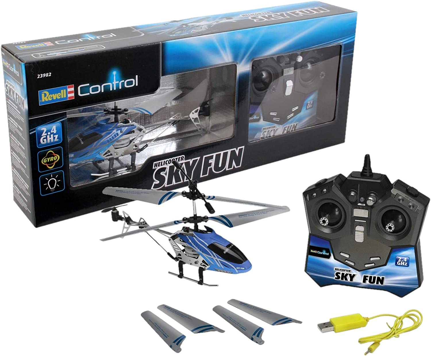 Revell Control RC Roxter Helicopter Forward Motion And Turning Controls  NEW/_UK