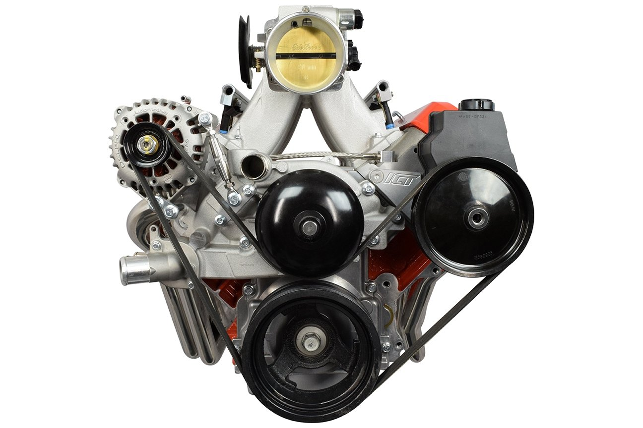 Ls Alternator Power Steering Drive Bracket Accessory Lq4 6 0 Engine Diagram Fead Kit Uses Ls1 Wp 551498 3 Automotive