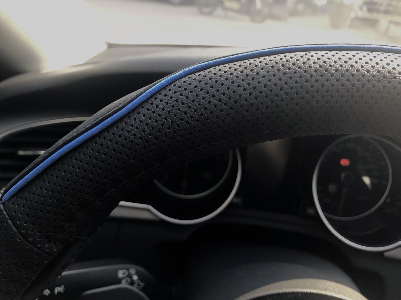 350mm Deep Dish Steering Wheel 6 Bolt Universal Custom Black Red// Carbon