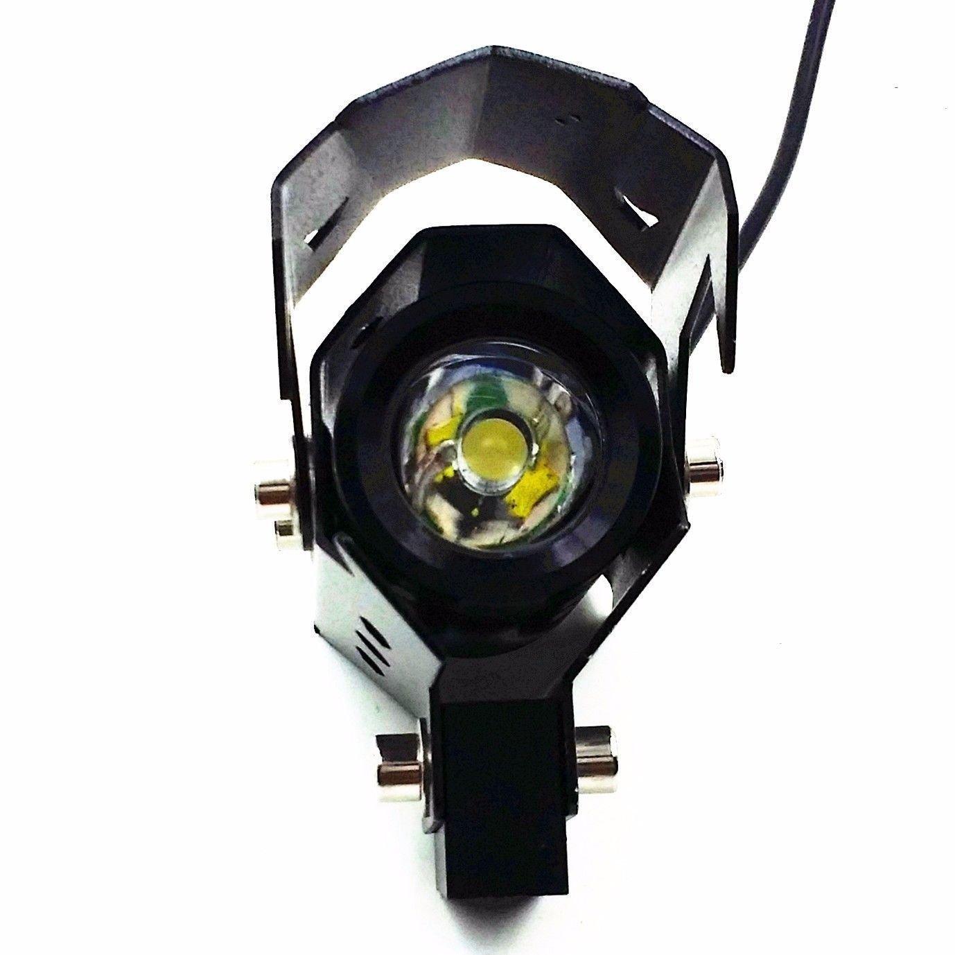 Candance® DLLL 3 Mode Strobe Waterproof Motorcycle Transformers 125W 3000LM 12V-80V Laser U8 CREE LED Headlight//Fog Lamp//Daytime Running Light//Spotlight for Bicycles,Bike,Cars,Trucks,Boat.ATV Blue