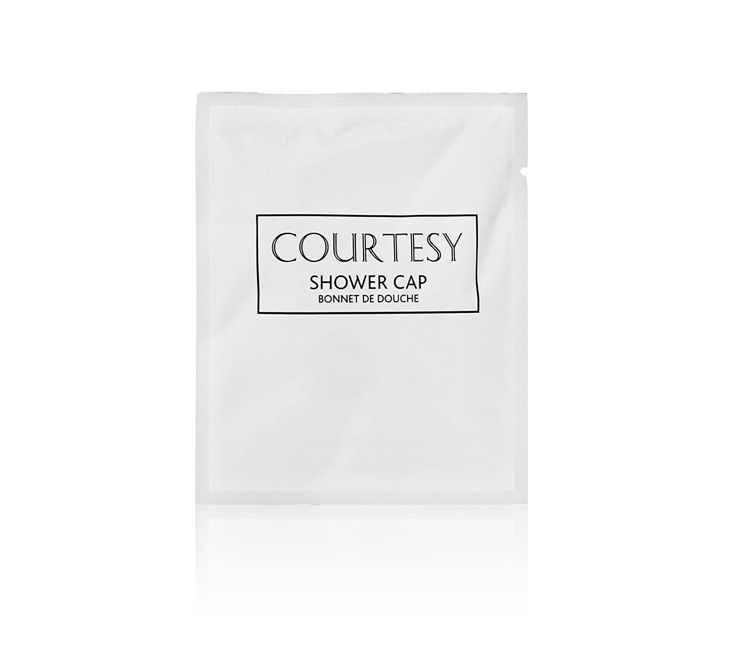 Courtesy Disposable Shower Cap, Hotel B&B Guest Travel - Pack of 100