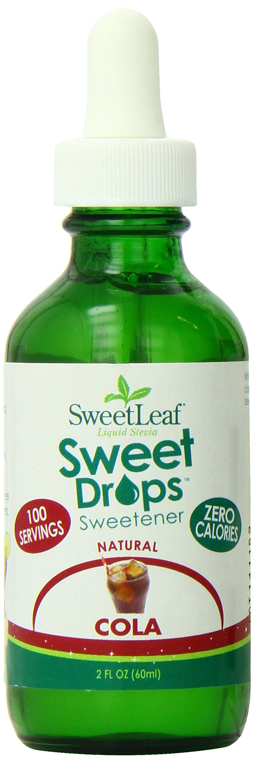 SweetLeaf Sweet Drops Liquid Stevia Sweetener, Cola, 2 Ounce