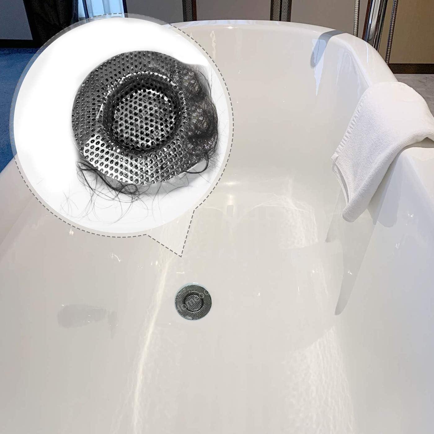 3 Stks Keuken Huid Drain Strainer Rvs Catcher Douche Afvoer Voor Keuken Of Bad Sink Drain Filter 7 9 11 Cm Amazon Nl