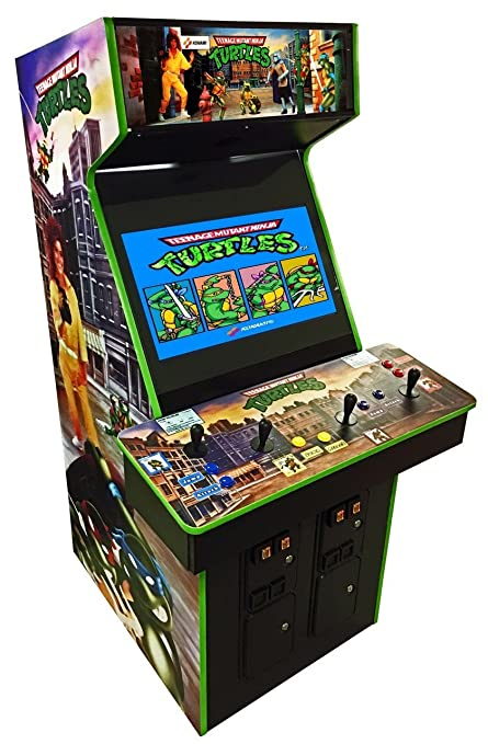 Ninja Turtles 4 Player Arcade Game  sc 1 st  Amazon.com : mame arcade cabinet 4 player - Cheerinfomania.Com