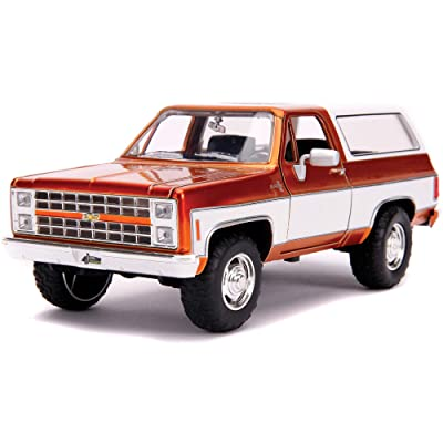 1980 Chevrolet Blazer K5 Copper and White Just Trucks 1/24 Diecast Model Car by Jada 31591 MJ: Toys & Games