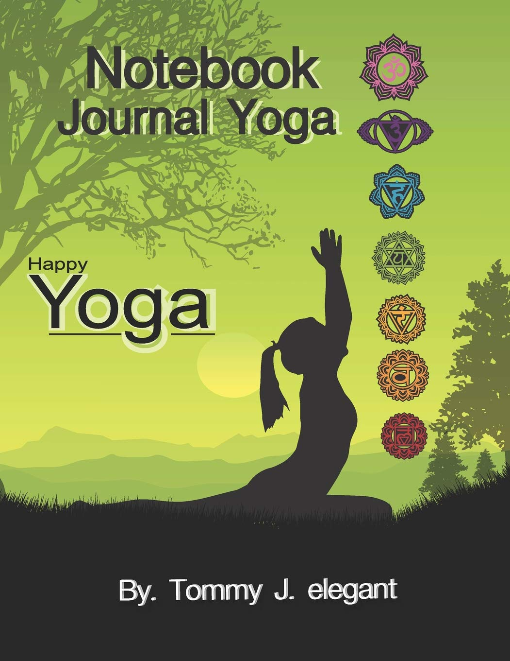 Notebook Journal Yoga: Yoga Lined Notebook Journal Daily ...