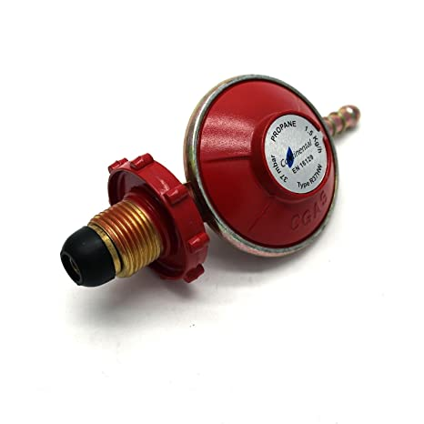 CALOR GAS BRAND 37mbar PROPANE GAS REGULATOR 4kg PER HOUR 5 YEAR WARRANTY