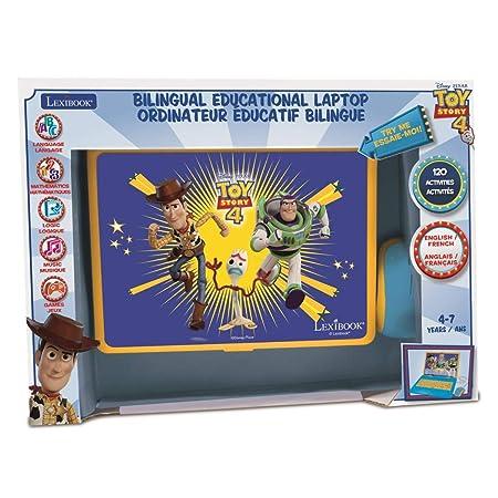 Amazoncom Lexibook Disney Toy Story 4 Woody Buzz Bilingual