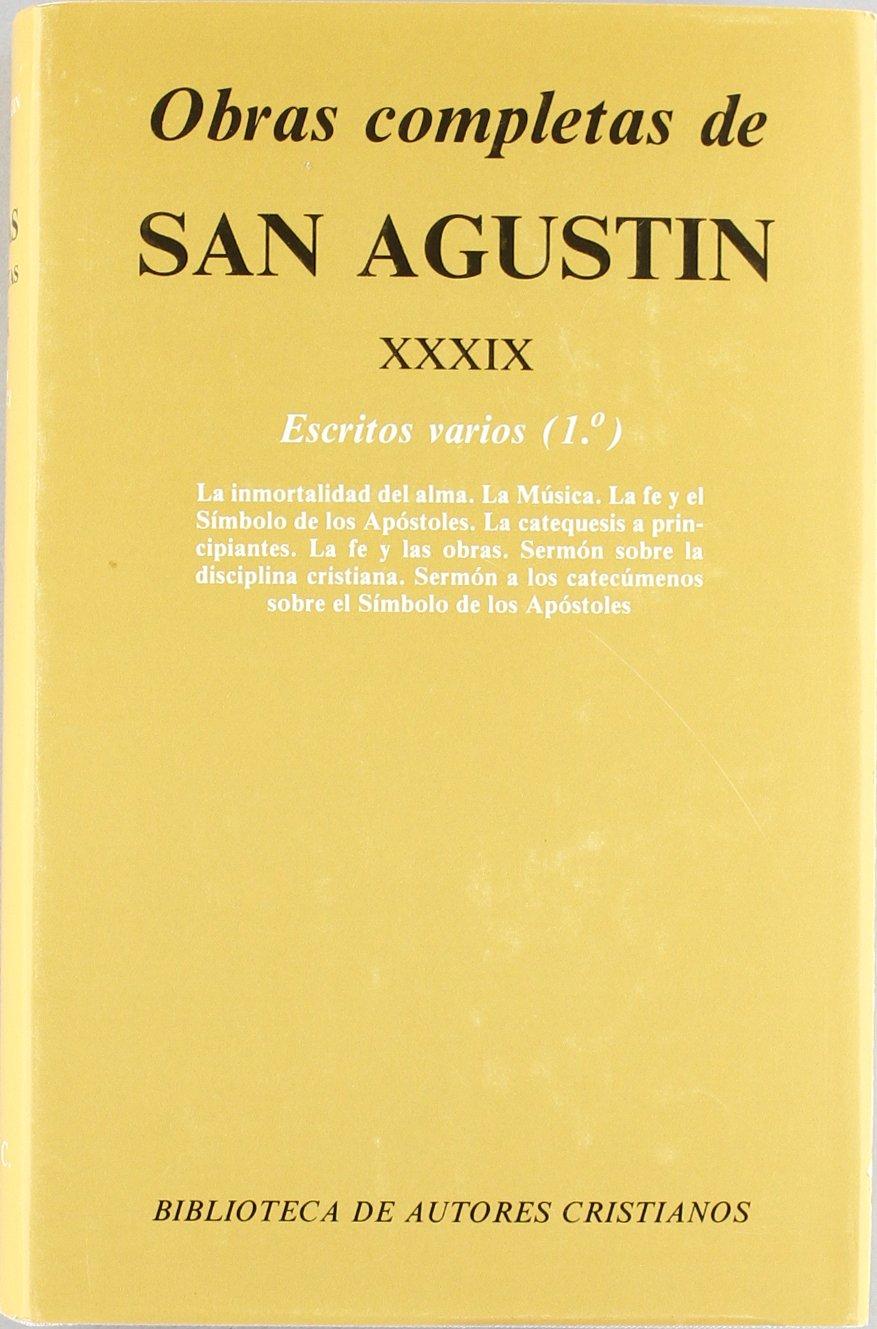 Obras completas de San Agustín: Escritos varios, 1 (NORMAL, Band 499)