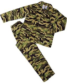 KAS Woodland Camo Kids Army Pyjamas Camouflage Military PJ Boys Ages 3-13 Years