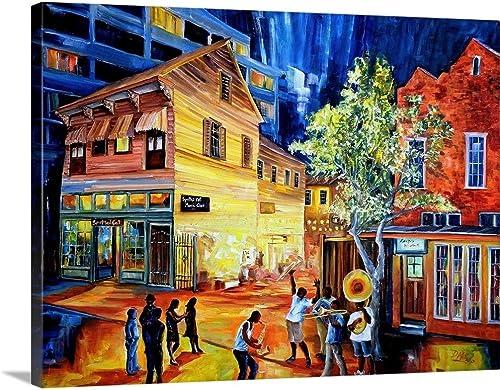 Frenchmen Street New Orleans Canvas Wall Art Print